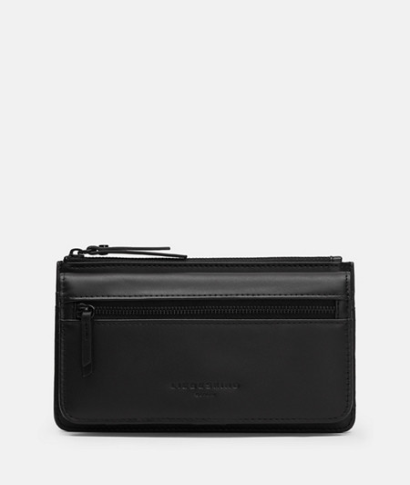 Leather wallet in a business look from liebeskind