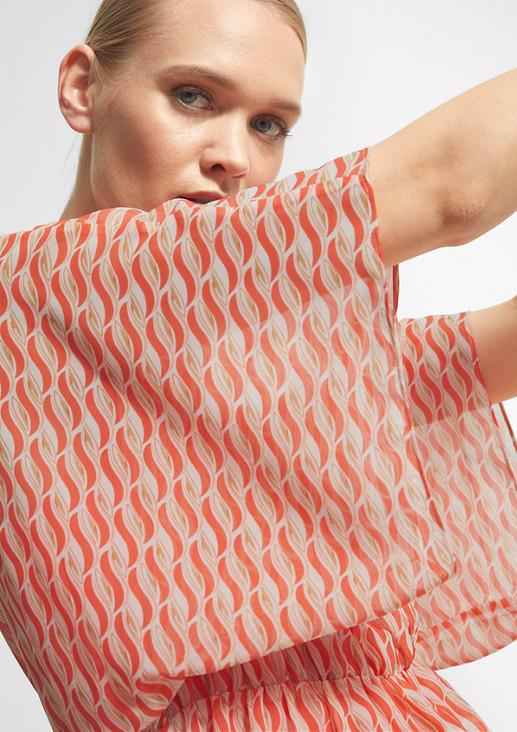 Strandkleid mit Allover-Print