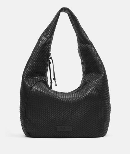 geflochtene Tasche im XL-Format