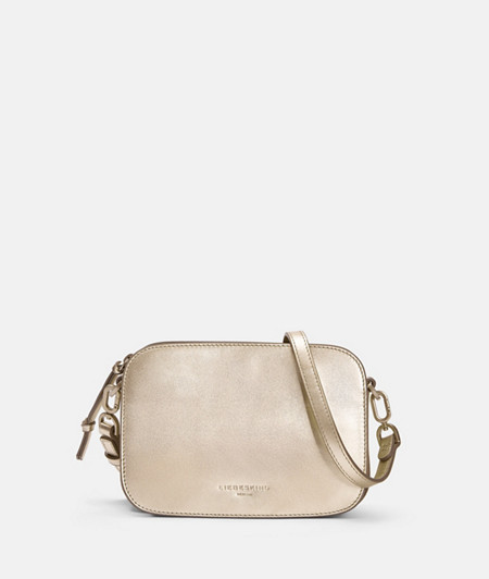 Small metallic shoulder bag from liebeskind