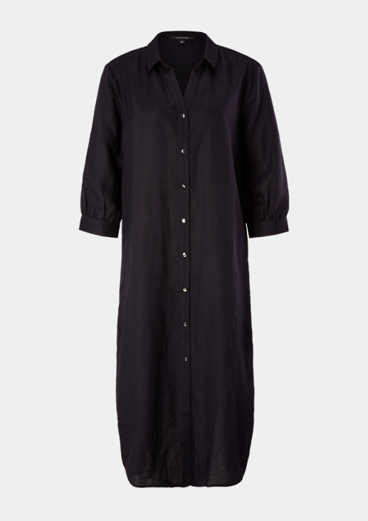 Blended linen long blouse from comma