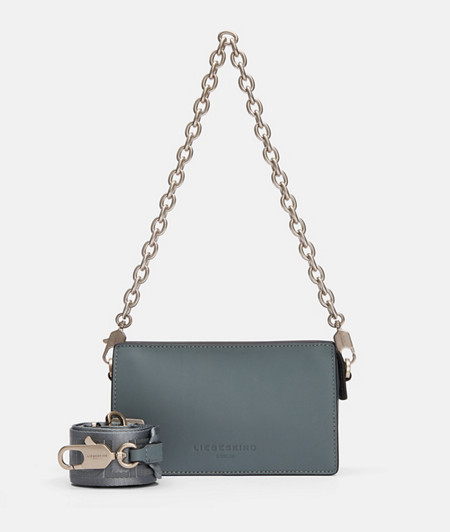 Handtasche mit Kette im DIN-Format