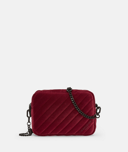 Velvet shoulder bag from liebeskind