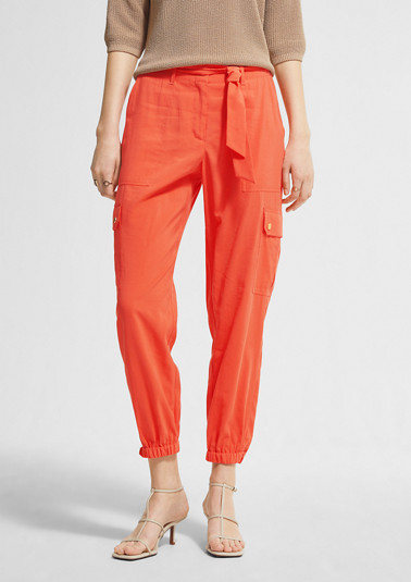 Regular Fit: cargo-style trousers from comma