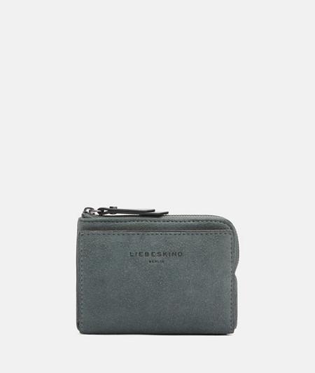 handliches Portemonnaie aus Wildleder