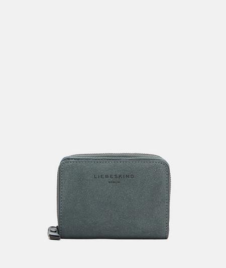 Portemonnaie aus Wildleder im praktischen Format