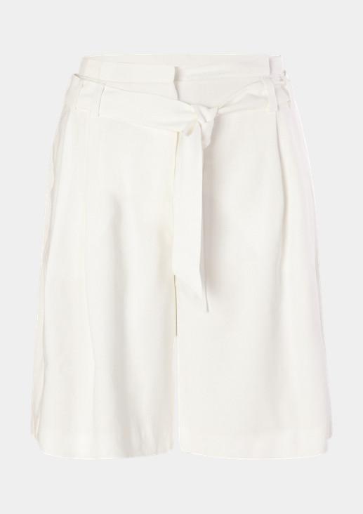 Regular: Shorts mit Paperbag-Bund