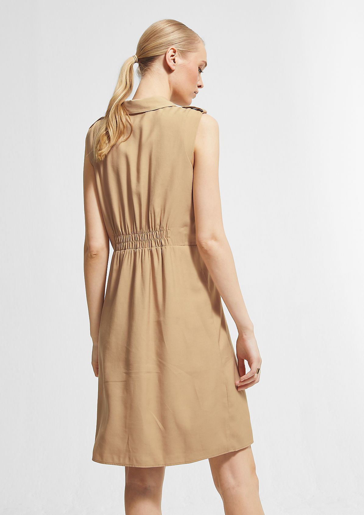 Cargo-style fitted dress from comma