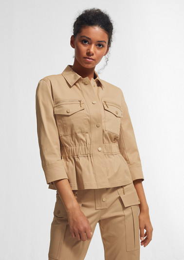 Cargo-style jacket from comma