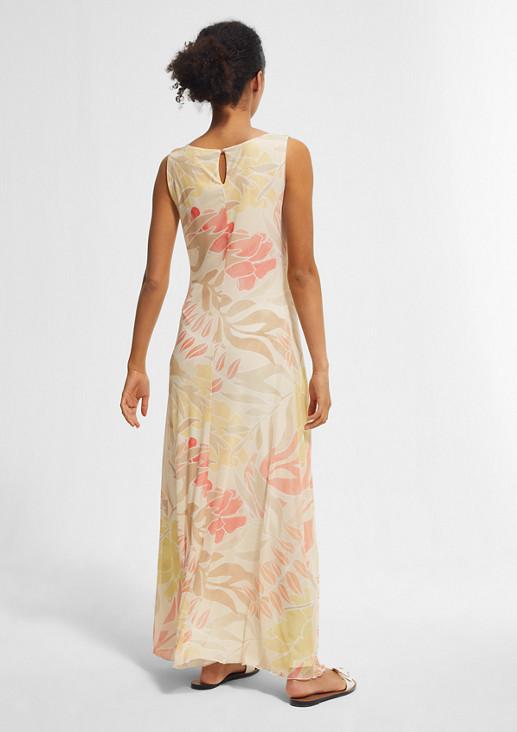 Bedrucktes Kleid aus Mesh