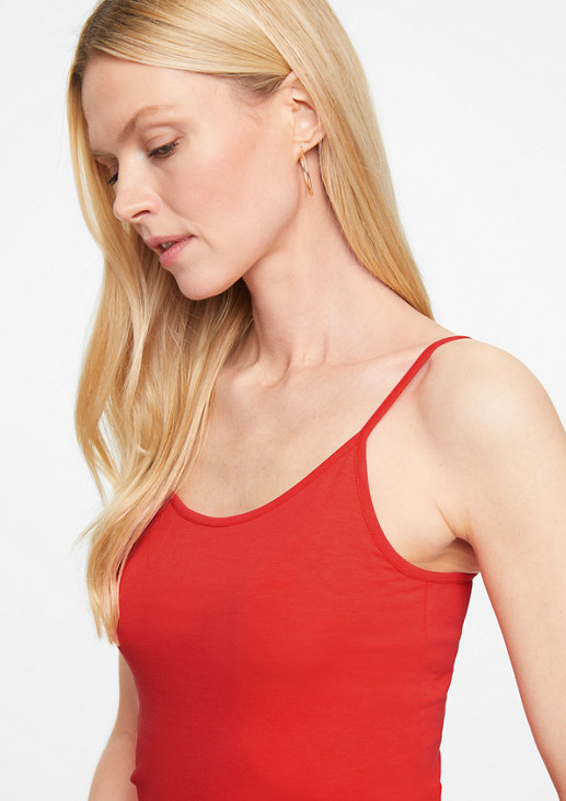 Modal blend jersey top from comma