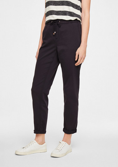 Regular Fit: tracksuit-style trousers from comma