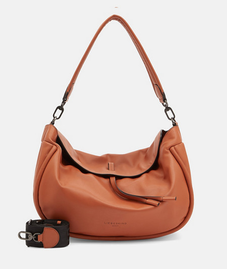 Large leather bag in a boho style from liebeskind