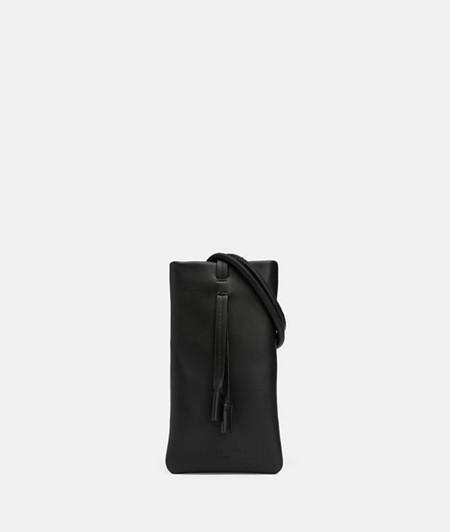Étui pour téléphone portable à bandoulière en cuir de liebeskind