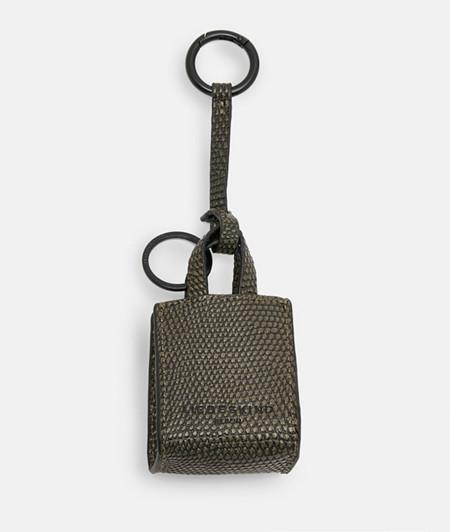 Taschenanhänger im Reptil-Look