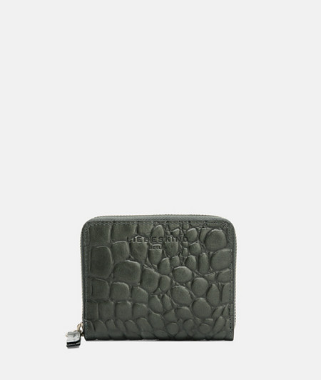 Compact crocodile wallet made of cowhide from liebeskind