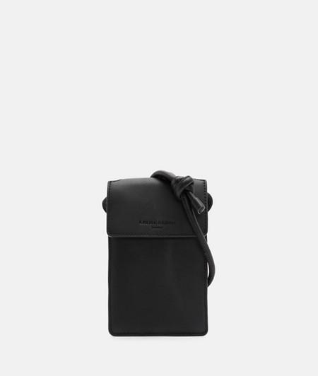 Petite poche pour téléphone portable en cuir souple de liebeskind