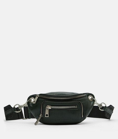 Casual belt bag made of soft leather from liebeskind
