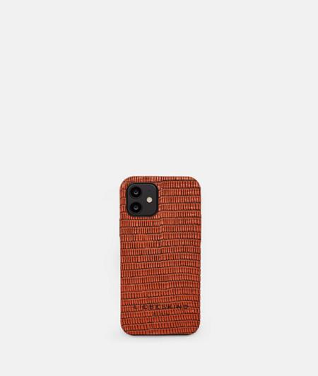 iPhone Hülle aus Leder im Reptil-Look
