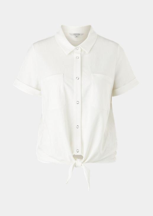 Jerseyshirt mit Knotendetail