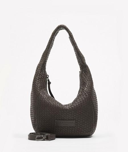 geflochtene Hobo Bag aus Leder
