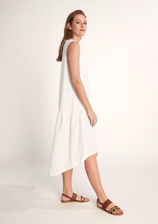 Pure linen midi dress from comma