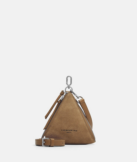 Mini sac triangulaire en daim de liebeskind