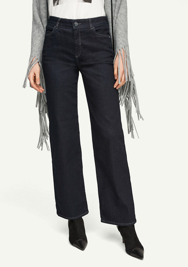 Regular Fit: Flared jeans from comma