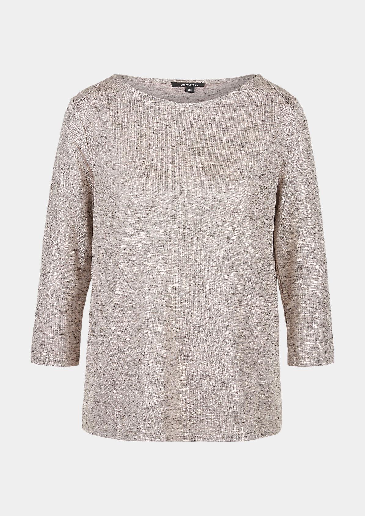 Shirt mit Metallic-Effekt