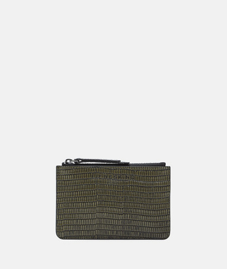 Mini wallet in a reptile look from liebeskind