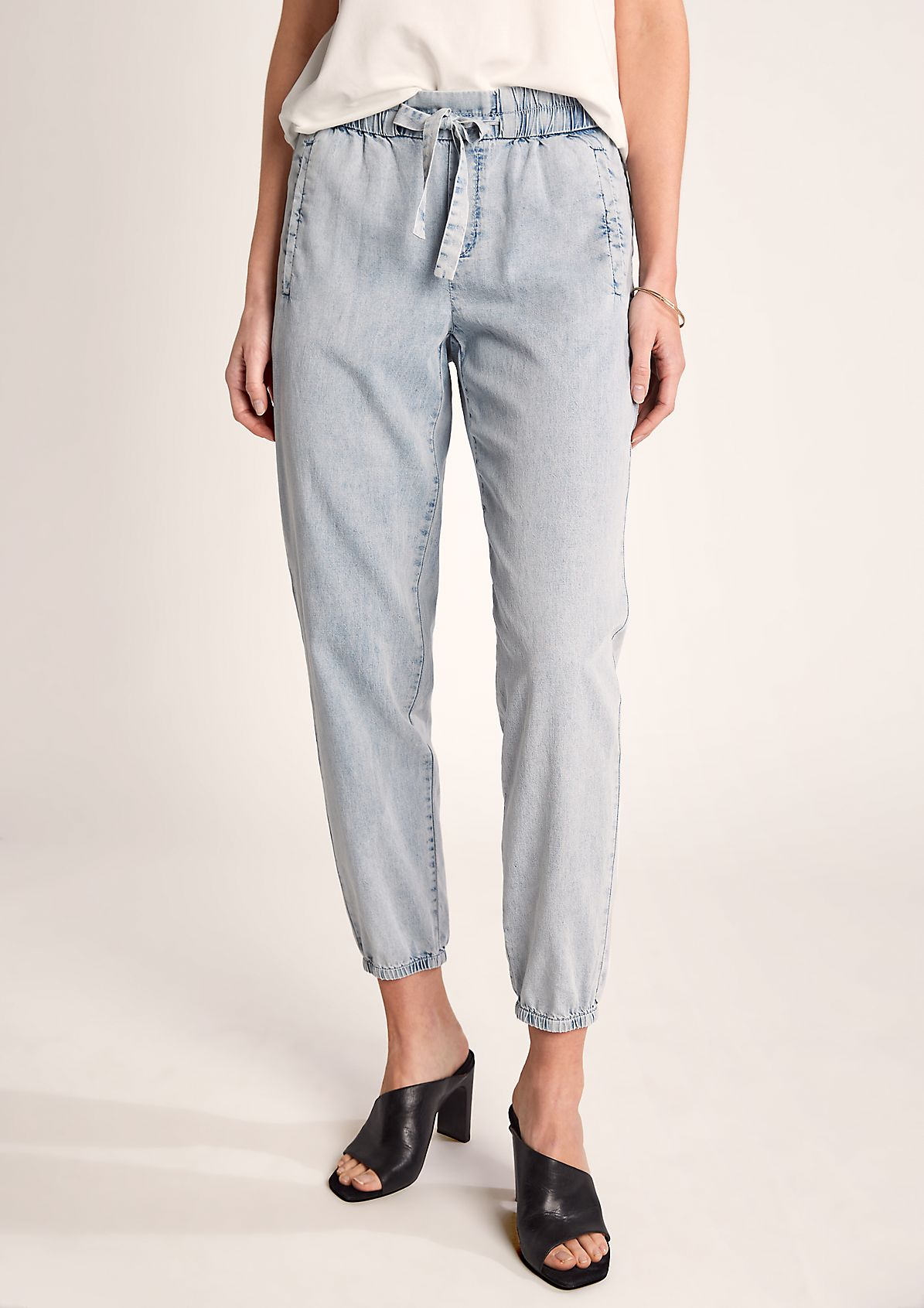 Regular Fit: lightweight 7/8-length jeans from comma