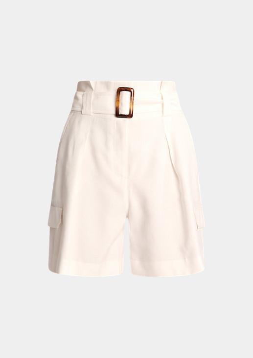 Regular: Leichte Paperbag-Hose