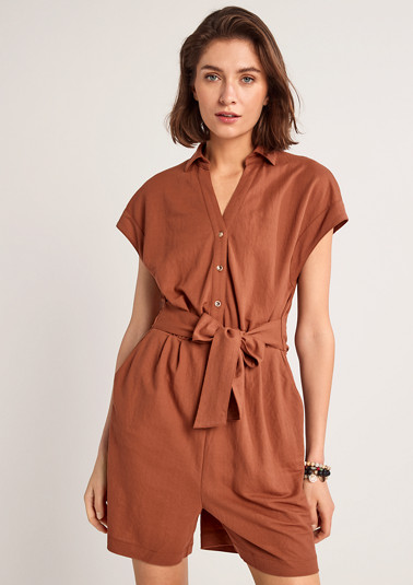Jumpsuit with ties from comma
