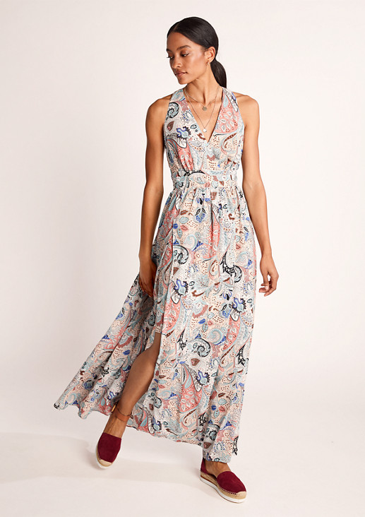 Boho dress with an all-over pattern from comma