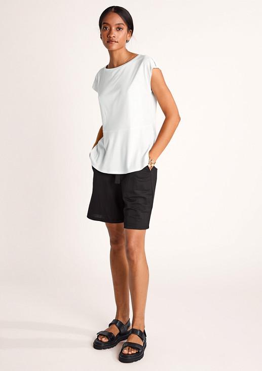 Jerseyshirt aus Lyocell