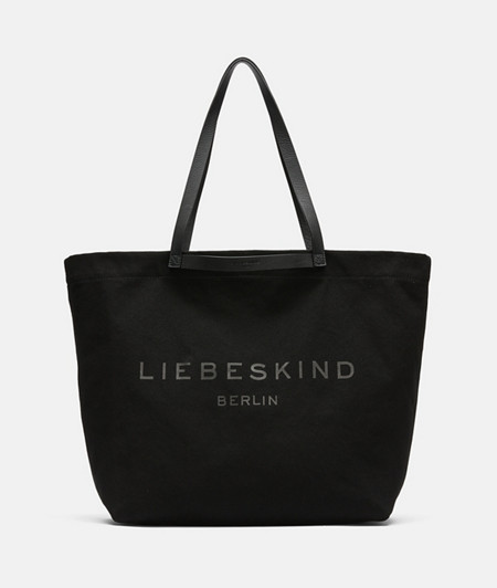 Canvas shopper from liebeskind