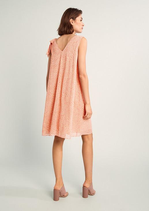Kurzes Kleid in A-Linie