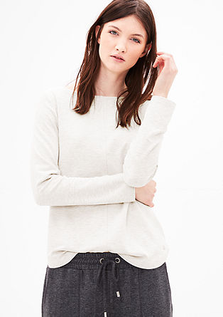 Long sleeve top made of soft jersey from s.Oliver