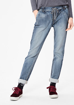 Smart chino: jogger style denim pants