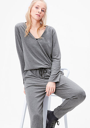 Cosy loungewear jumpsuit from s.Oliver