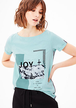 T-shirt with ethnic details from s.Oliver