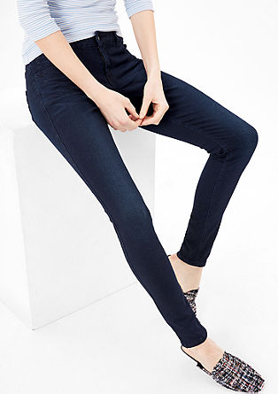 Shape Superskinny: Dunkle Jeans