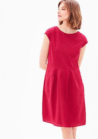 Kleid aus Baumwollspitze
