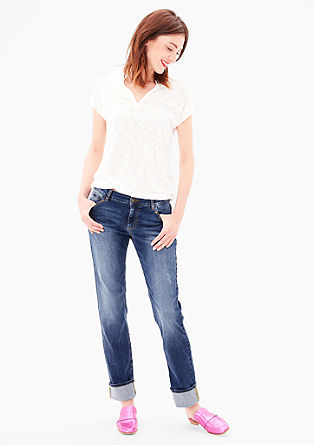 Smart Straight: Stretch-Jeans
