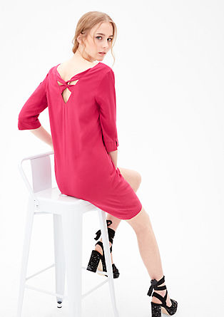 Dress with a back neckline from s.Oliver