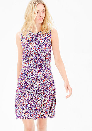 Floral dress in viscose from s.Oliver