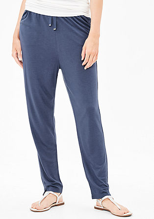 Jersey tracksuit bottoms from s.Oliver