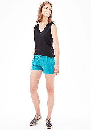 Comfortable jersey shorts from s.Oliver