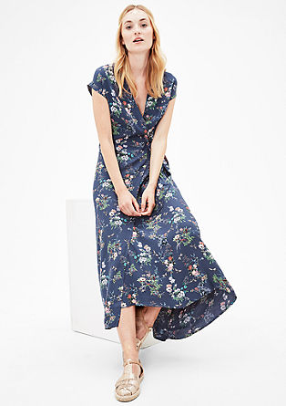 Wrap dress with a floral pattern from s.Oliver