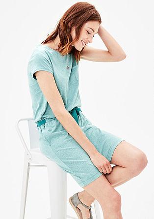 Melange jersey dress from s.Oliver